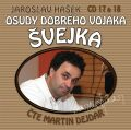 Osudy dobrého vojáka Švejka CD 17 & 18 - Jaroslav Hašek