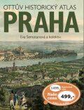 Ottův historický atlas Praha - Eva Semotanová