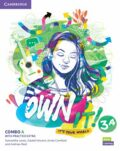 Own it! 3 Combo A Student´s Book and Workbook with Practice Extra - Samantha Lewis, Vincent Daniel