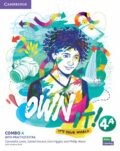 Own it! 4 Combo A Student´s Book and Workbook with Practice Extra - Samantha Lewis, Vincent Daniel