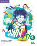 Own it! 4 Student´s Book with Practice Extra - Samantha Lewis, Vincent Daniel