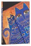 Paperblanks Diář - Mediterranean Cats / mini - neuveden