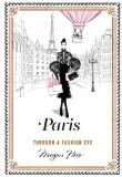 Paris: Through a Fashion Eye - Megan Hess