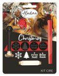 Pečetní vosky, vánoční sada, KIT CIRE NOEL - Aladine