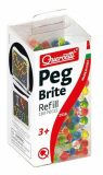 Quercetti Peg Brite refill – náhradní kolíčky ke svítící mozaice - Quercetti