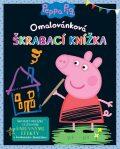 Peppa Pig Omalovánková škrábací knížka - Egmont