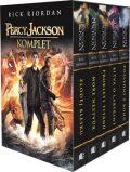Percy Jackson 1-5 - dárkový box (komplet) - Rick Riordan