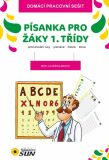 Písanka pro žáky 1. třídy (procvičování ruky, písmena, číslice, slova) - Brouk Kateřina