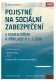 Pojistné na sociální zabezpečení 2016 - Marta Ženíšková