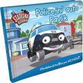 Policejní auto Pavlík - leporelo kniha - Elin Ferner