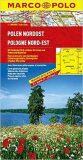 Polsko Nordost / mapa 1:300T  MD - Marco Polo