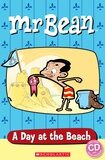 Popcorn ELT Readers Starter: Mr Bean - A Day at the Beach with CD - Sarah Silver