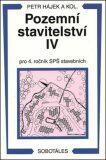Pozemní stavitelství IV pro 4. ročník SPŠ stavebních - Václav Hájek