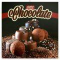Poznámkový kalendář Čokoláda 2022, voňavý, 30 x 30 cm - Presco Group