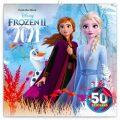 Poznámkový kalendář Frozen – Ledové království II 2021, s 50 samolepkami, 30 × 30 cm - Presco Group