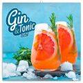 Poznámkový kalendář Gin & Tonik 2021, 30 × 30 cm - Presco Group