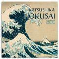 Poznámkový kalendář Katsushika Hokusai 2021, 30 × 30 cm - Presco Group