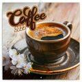 Poznámkový kalendář Káva 2022, voňavý, 30 x 30 cm - Presco Group