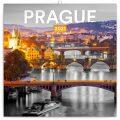 Poznámkový kalendář Praha černobílá 2021, 30 × 30 cm - Presco Group