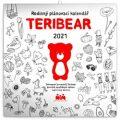 Kalednář 2021 poznámkový: Teribear, 30 x 30 cm - Presco Group