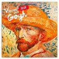 Poznámkový kalendář Vincent van Gogh 2021, 30 × 30 cm - Presco Group