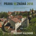 Praha neznámá 2018 - kalendář - Petr Ryska
