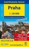 Praha plán města 1:20 000 - Kartografie PRAHA