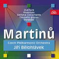 Předehra pro orchestr, Rapsodie pro velký orchestr, Sinfonia Concertante.. - CD - Bohuslav Martinů