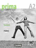 Prima A2 Deutsch Fur Jugendliche: Testheft Band 3/4 + CD - Grammatiki Rizou