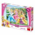 Puzzle Princezny s mazlíčky v parku - Dino Toys