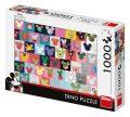 Puzzle 1000 Mickey uši - Dino Toys