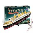 Puzzle 3D Titanic – 35 dílků - HM Studio