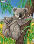 Puzzle MAXI - Medvídek Koala s mládětem/25 dílků - Larsen