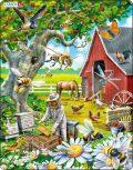 Puzzle MAXI - Včelař s úlem/53 dílků - Larsen