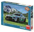 Puzzle Mercedes Amg Gt v horách 300 XL dílků - Dino Toys