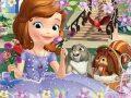 Puzzle Princezna Sofie První Voňavé růže - 30 dílků - neuveden