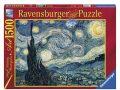 Puzzle Vincent van Gogh: Hvězdná noc 1500 dílků - Ravensburger
