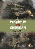 PzKpfw IV vs Sherman - Francie 1944 - Steven J. Zaloga