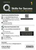 Q Skills for Success 1 Reading & Writing Teacher´s Access Card, 3rd - Sarah Lynn