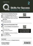 Q Skills for Success 2 Reading & Writing Teacher´s Access Card, 3rd - Joe McVeigh