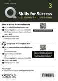 Q Skills for Success 3 Listening & Speaking Teacher´s Access Card, 3rd - Miles Craven