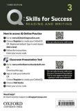 Q Skills for Success 3 Reading & Writing Teacher´s Access Card, 3rd - Colin Ward