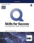 Q Skills for Success 4 Listening & Speaking Student´s Book with iQ Online Practice, 3rd - Robert Freire