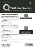 Q Skills for Success 4 Listening & Speaking Teacher´s Access Card, 3rd - Robert Freire