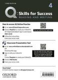 Q Skills for Success 4 Reading & Writing Teacher´s Access Card, 3rd - Debra Daise