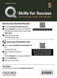 Q Skills for Success 5 Listening & Speaking Teacher´s Access Card, 3rd - Susan Earle-Carlin