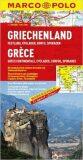Řecko pevnina, Kyklady, Korfu/mapa 1:300T MD - Marco Polo