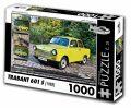 Puzzle TRABANT 601 S (1988) - 1000 dílků - Puzzle Retro auta