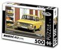 Puzzle MOSKVIČ 412 (1974) - 500 dílků - Puzzle Retro auta
