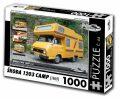 Puzzle ŠKODA 1203 CAMP (1969) - 1000 dílků - Puzzle Retro auta